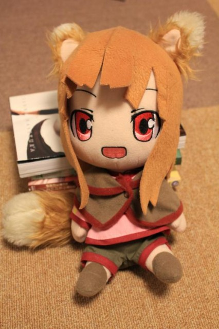 青島文化教材社のキャラもふシリーズ(ぬいぐるみ)のホロ。2010年2月発売。