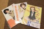 買ったもの。Ixy先生のけいおん!(りっちゃん隊員)本、たまゆら本二冊。