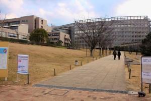 会場外観(福岡工業大学短期大学部)