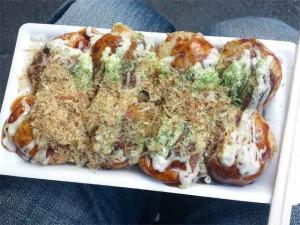 まあ、大阪ですし?たこせんとキャベツ焼も食べたよ!おいしかった。