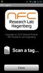 NFC TagInfo画面