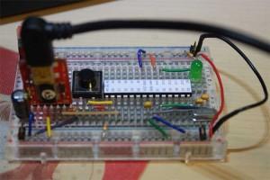 Arduino on ブレッドボード