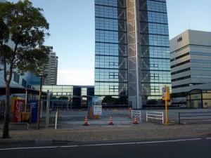 早朝の福岡タワーなう。