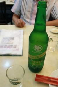 台湾ビール。