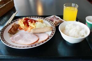 3日目の朝食。