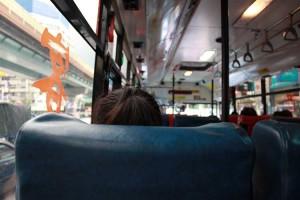 バスに乗ってジウフェンへ。