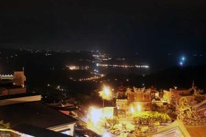 ジウフェンからの夜景。