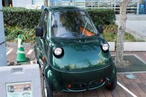 『こでかけ』で使う超小型電気自動車