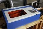 博多図工室の象徴、レーザー加工機